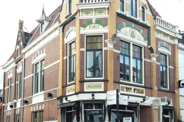 Almelo Jugendstil pand Hofstraat 1
