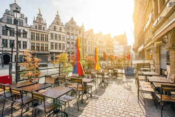 Antwerpen terras