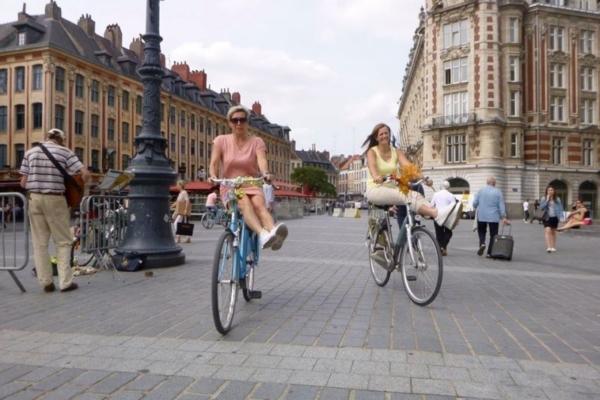 Baja fietstocht Lille 1