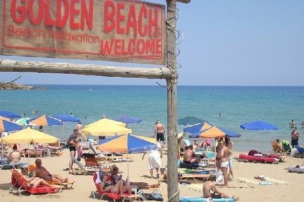 Chania golden beach bij Frida app 3