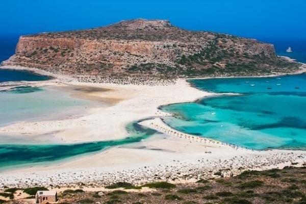 Chania stranden Balos Beach 1