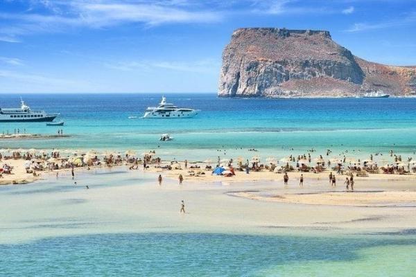 Chania stranden Balos Beach 4
