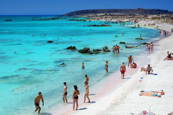 Chania stranden Elafonissi 5