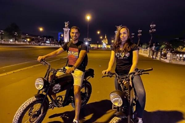 Electrische scooter tour met XL 2