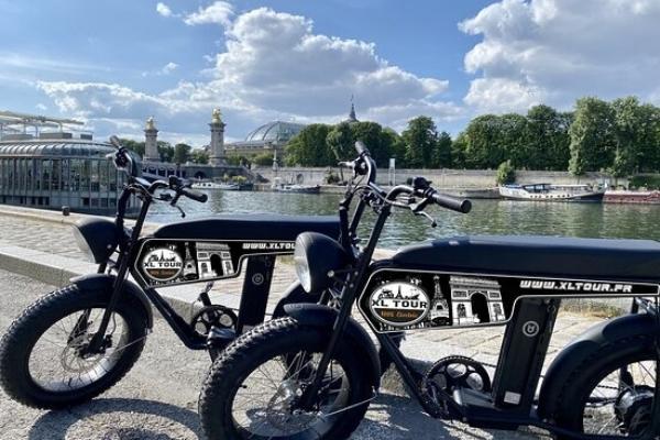 Electrische scooter tour met XL 3
