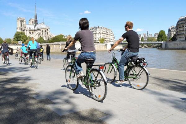 Fietstochten langs de Seine