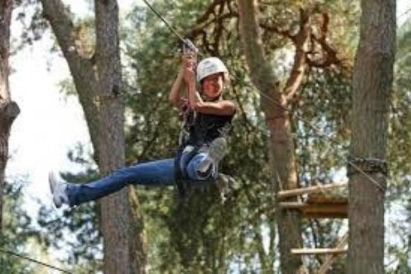 High Rope Adventure K Ing