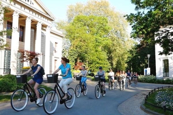 Salland fietsen in Zwolle met hiawatha 1