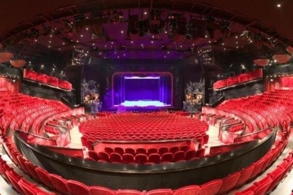 Circustheater sfeer