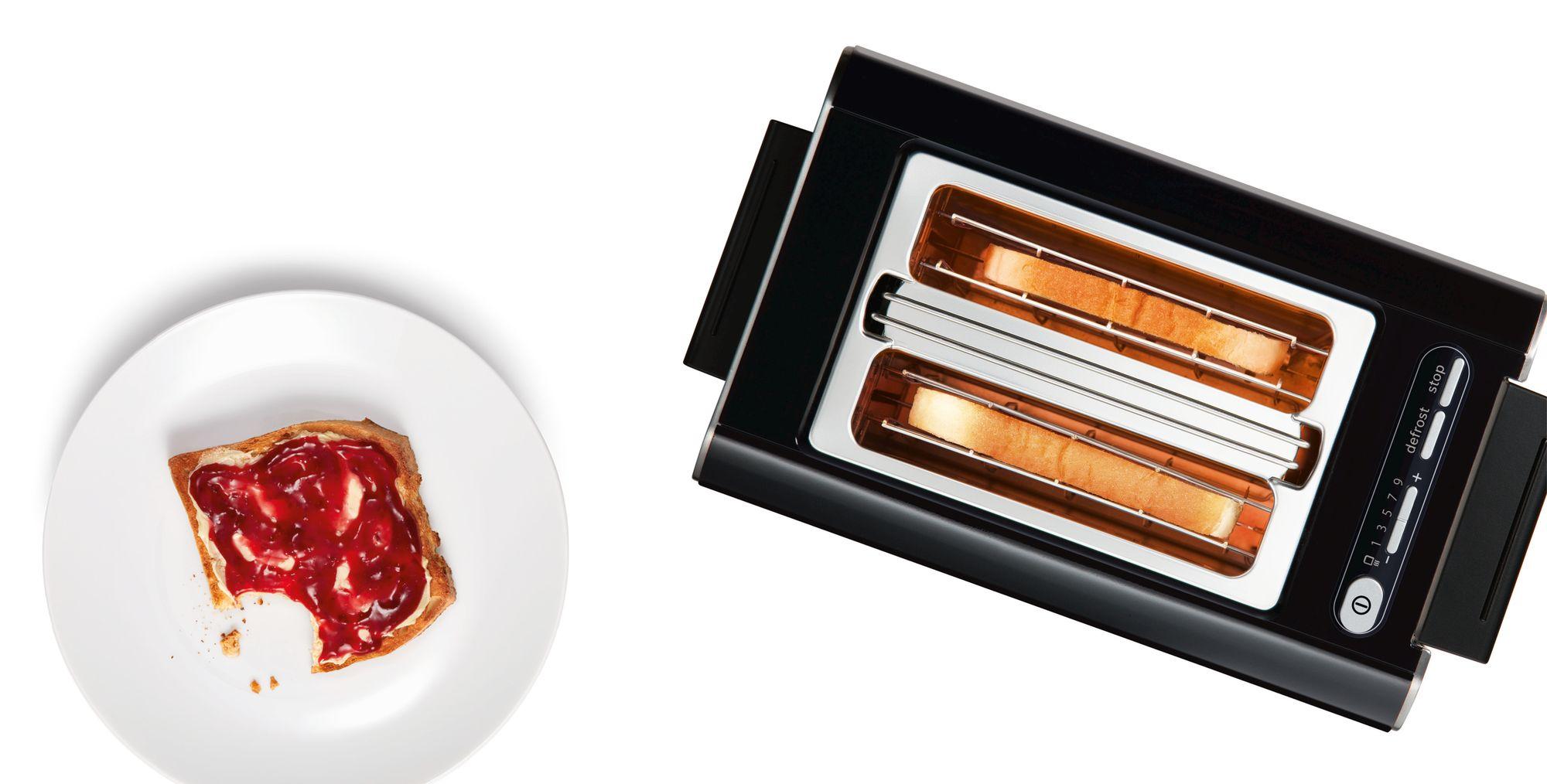 Styline Plemeniti čelik / plastično kućište, kompaktni toster 2/2, elektronski nerđajući čelik