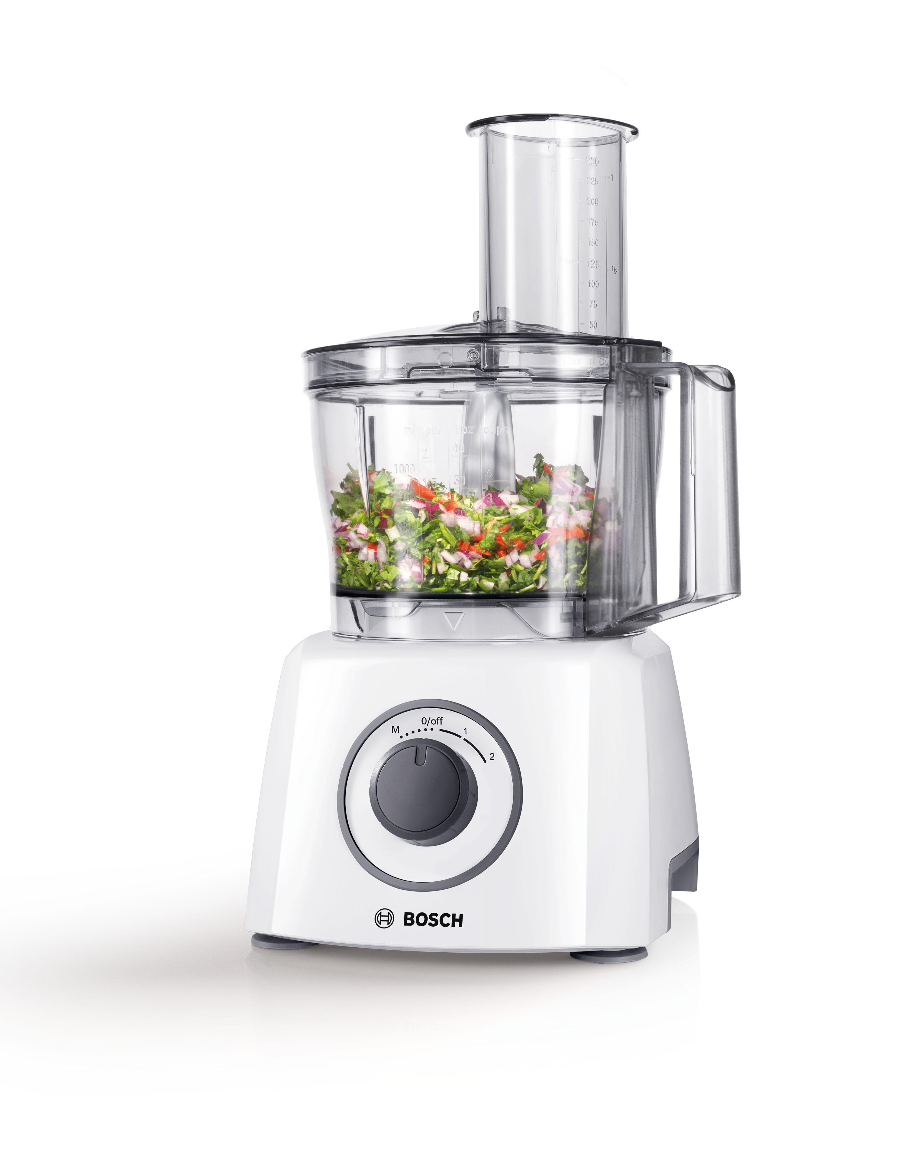 Kompaktni kuhinjski aparat 800 W bela / siva