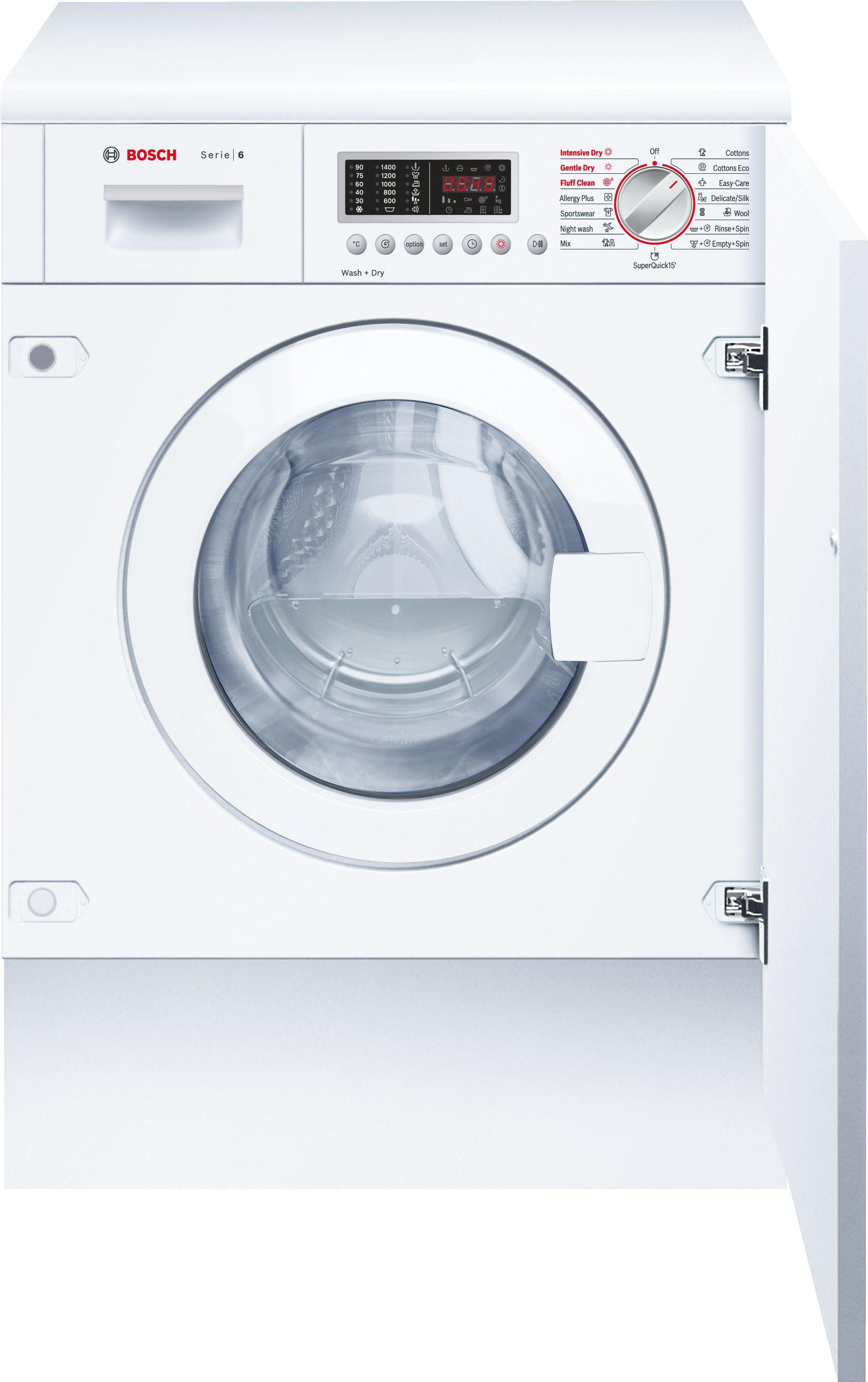 Serie | 6 Wash & Dry Mašina za pranje i sušenje veša, ugradna