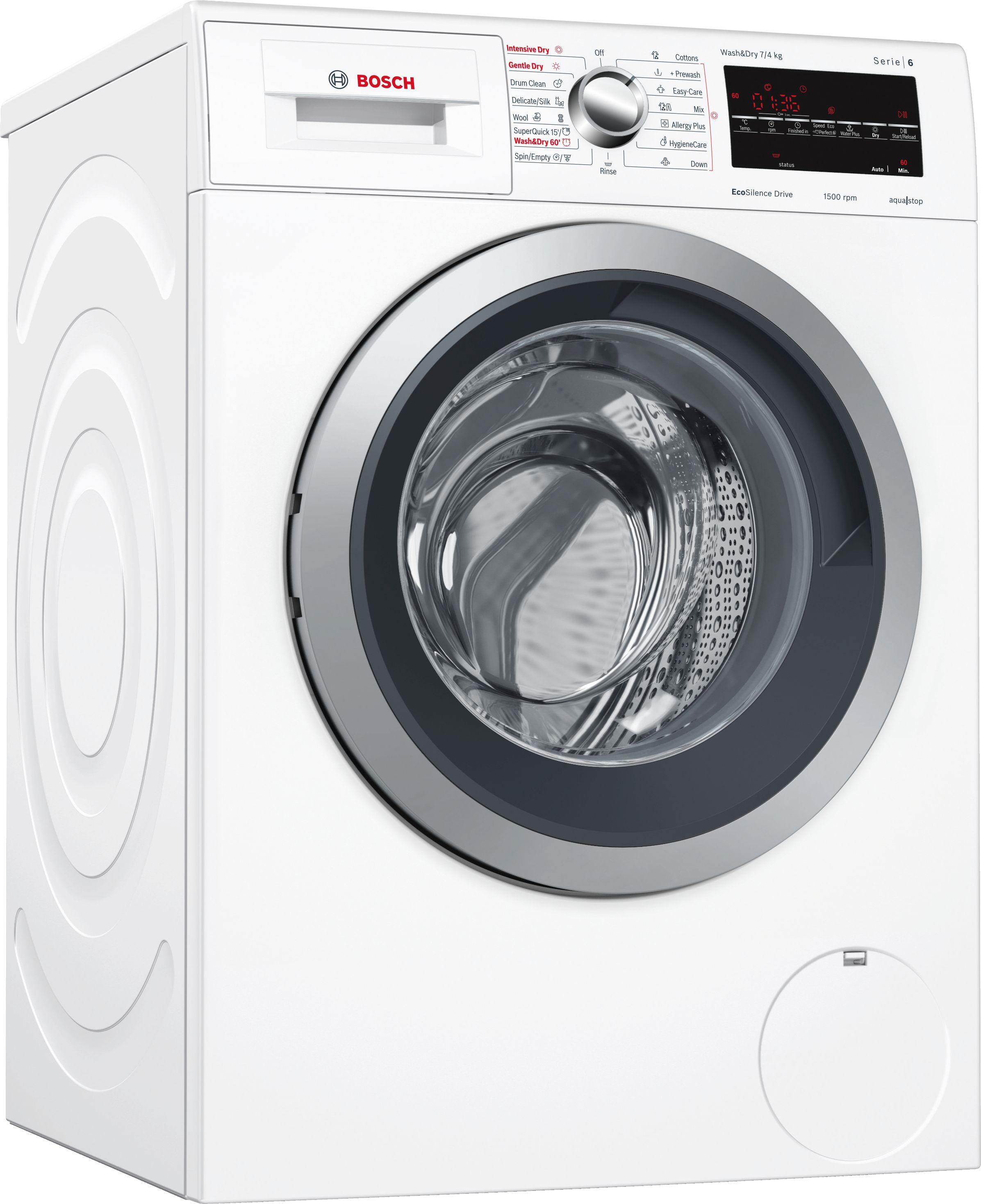 Serie | 6 Mašina za pranje i sušenje veša Wash&Dry 7/4kg