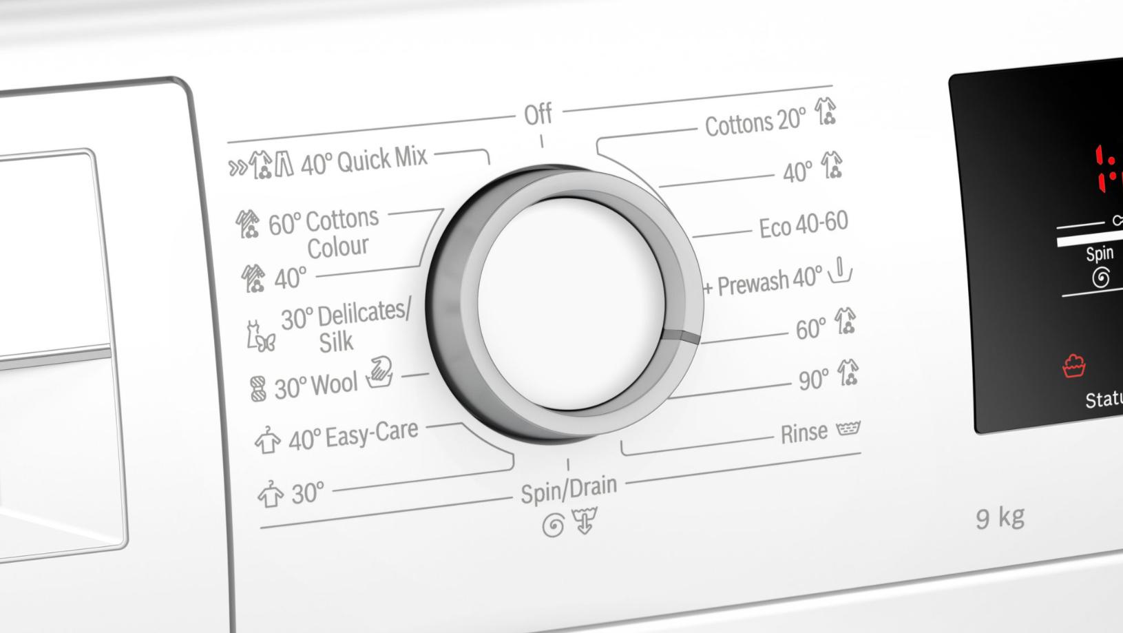 Serie | 6 Mašina za pranje veša, punjenje spreda 9 kg 1200 okr