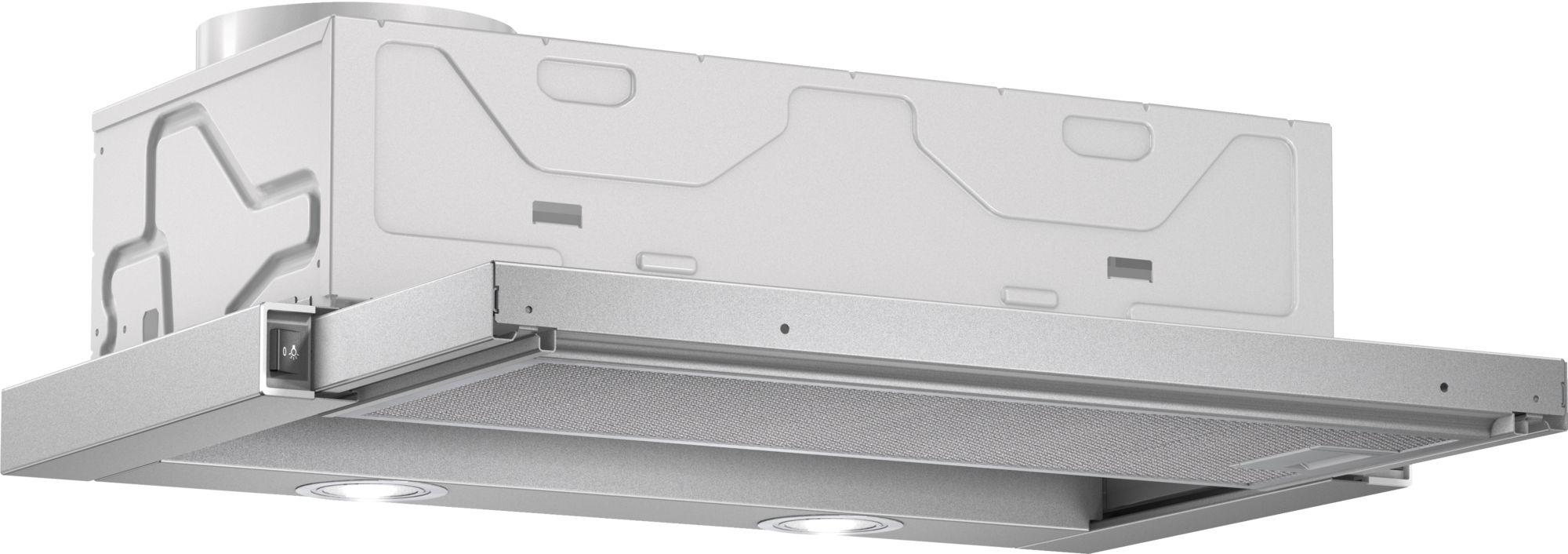 Serie | 2 Ugradni aspirator na izvlačenje Metalno-sivi 60 cm