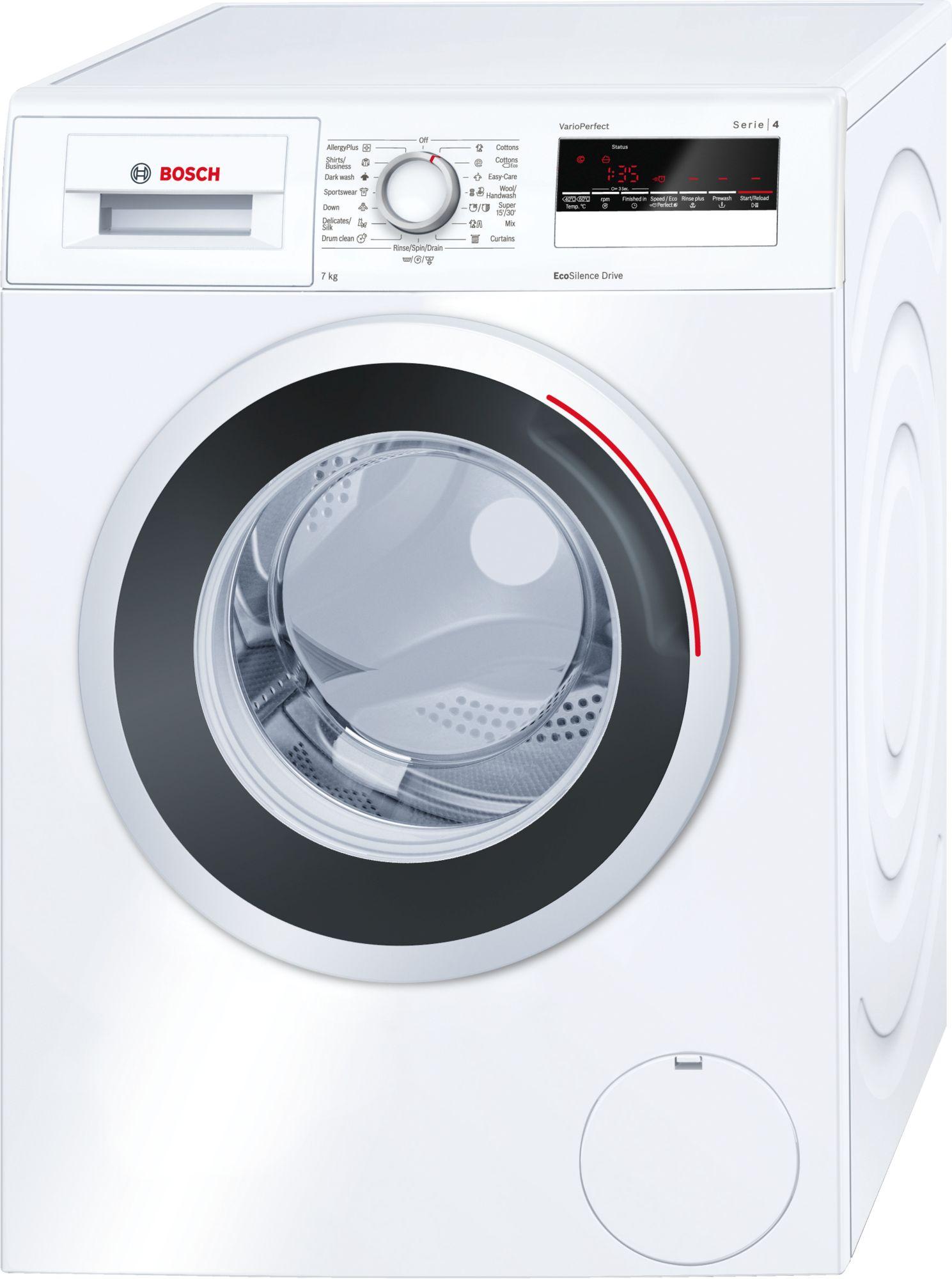 Serie | 4 Mašina za pranje veša