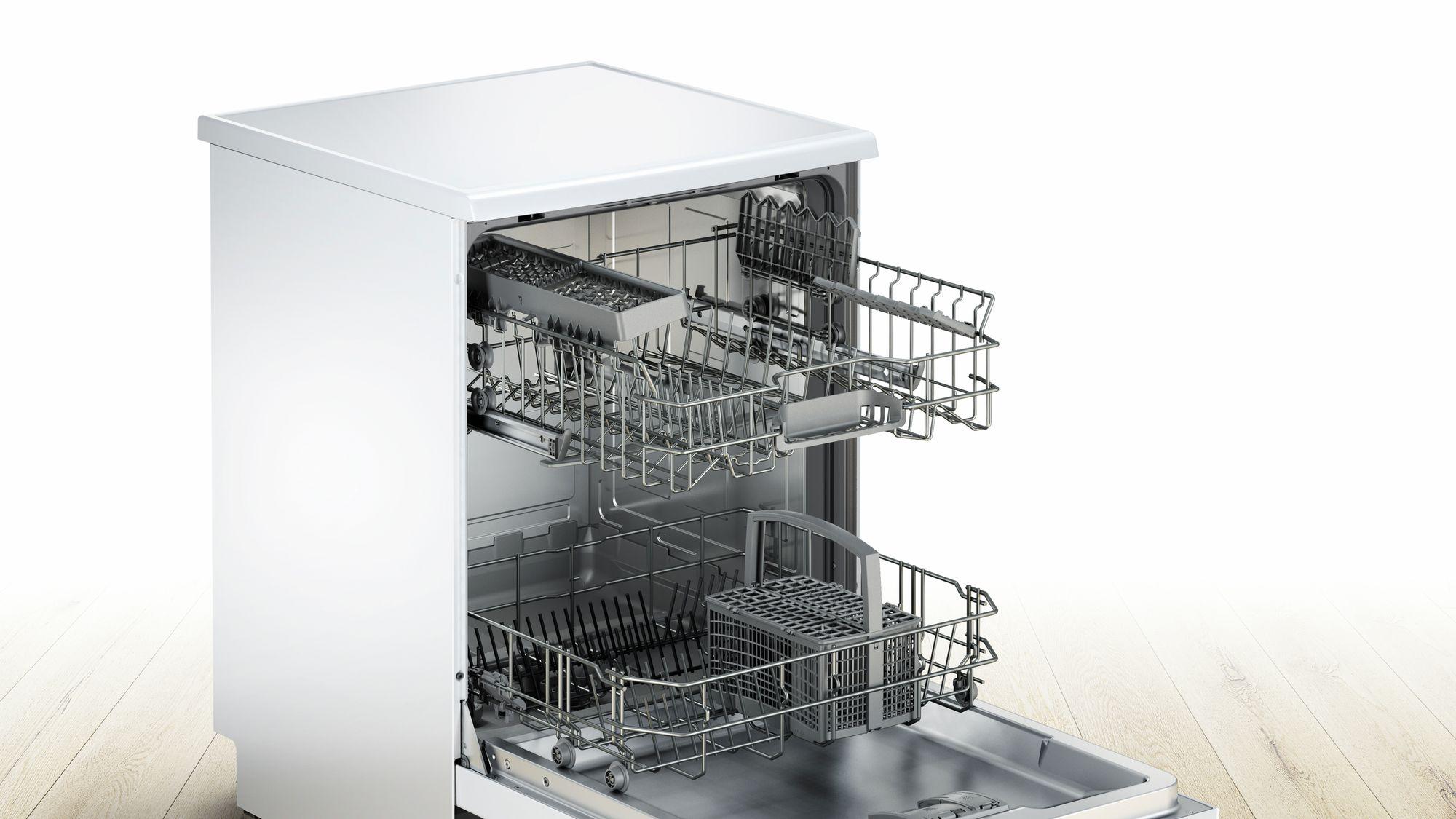 Serie | 4 Silence Plus mašina za pranje sudova, 60 cm samostalna mašina za pranje sudova, bela