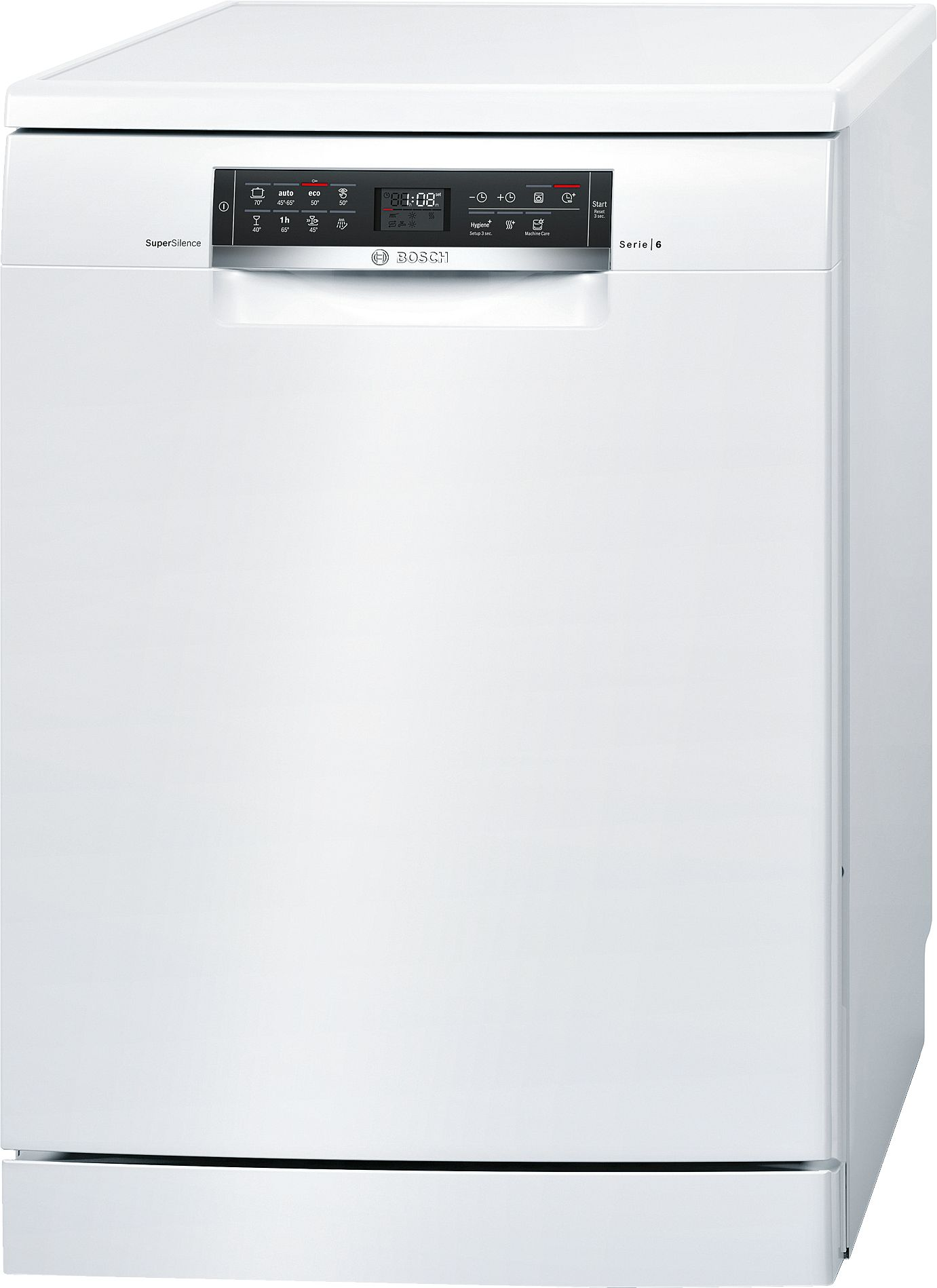 Serie | 6 SuperSilence mašina za pranje sudova, 60 cm samostalna mašina za pranje sudova, bela