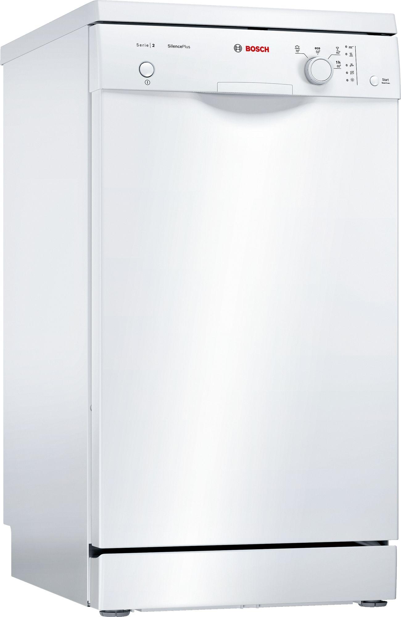 Serie | 2 Silence Plus mašina za pranje sudova, 45 cm samostalna mašina za pranje sudova, bela
