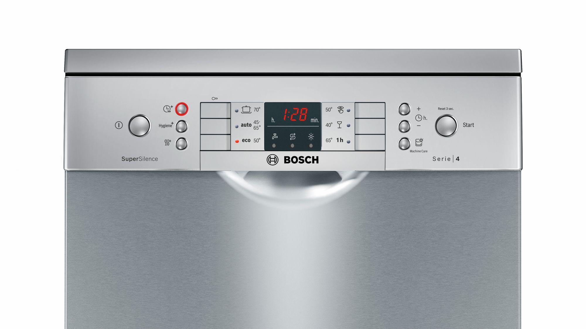 Serie | 4 SuperSilence mašina za pranje sudova, 45 cm