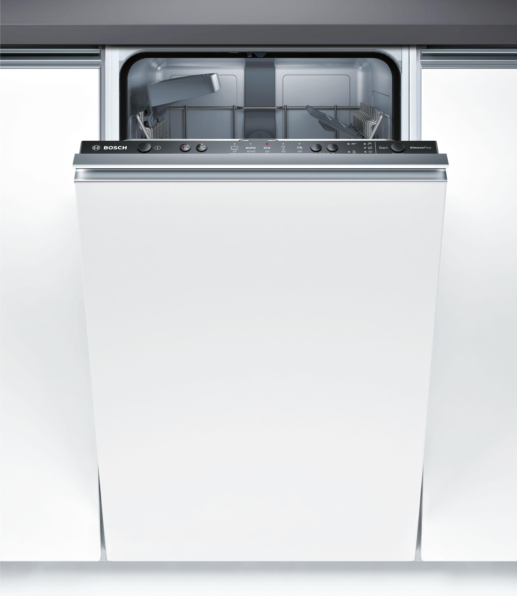 Serie | 2 Silence Plus mašina za pranje sudova, 45 cm Potpuno ugradni