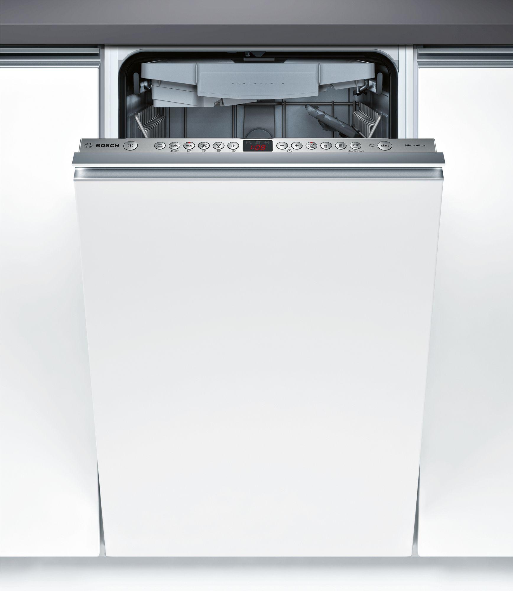 Serie | 4 Silence Plus mašina za pranje sudova, 45 cm Potpuno ugradni