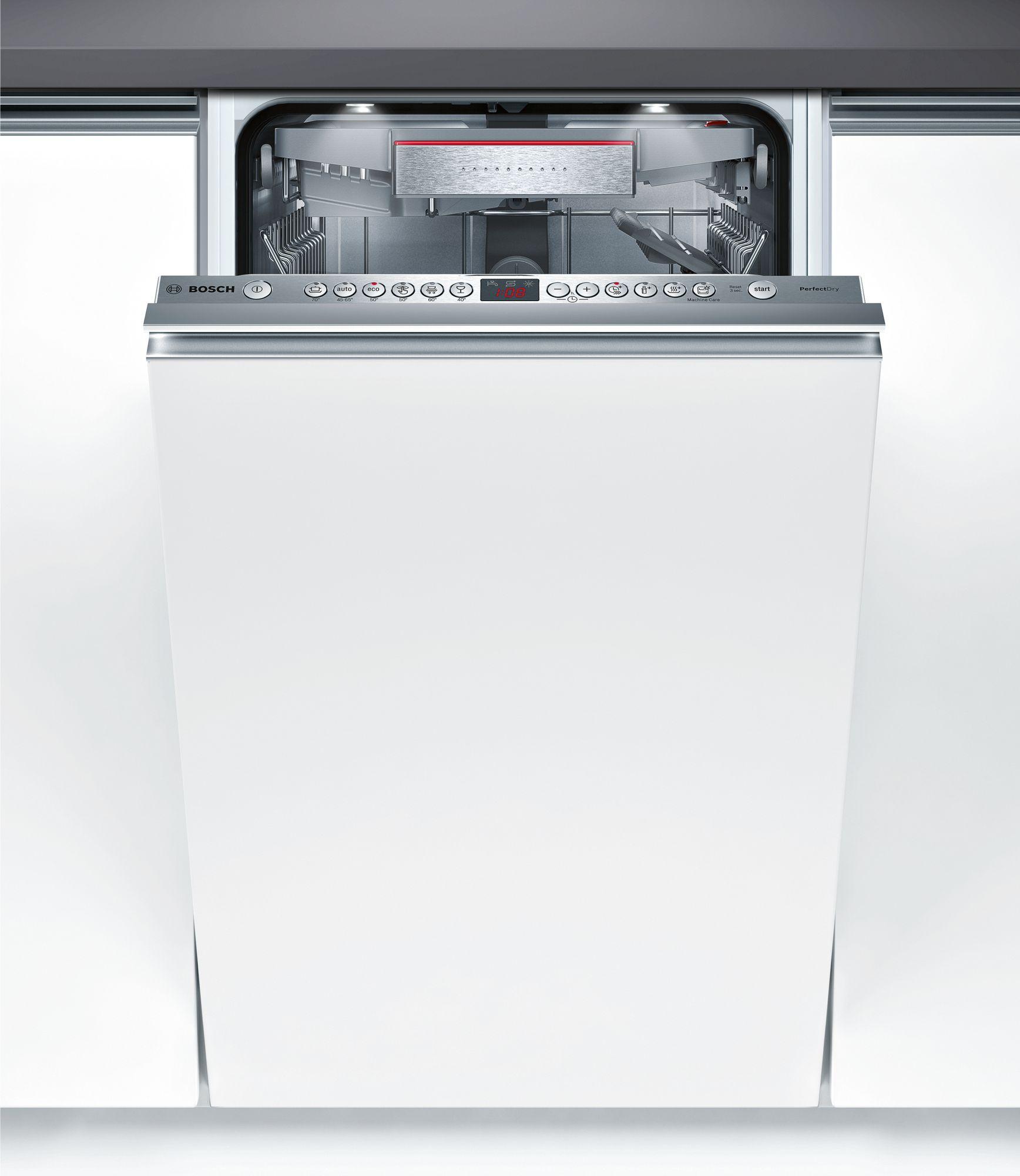 Serie | 6 PerfectDry mašina za pranje sudova, 45 cm Potpuno ugradni