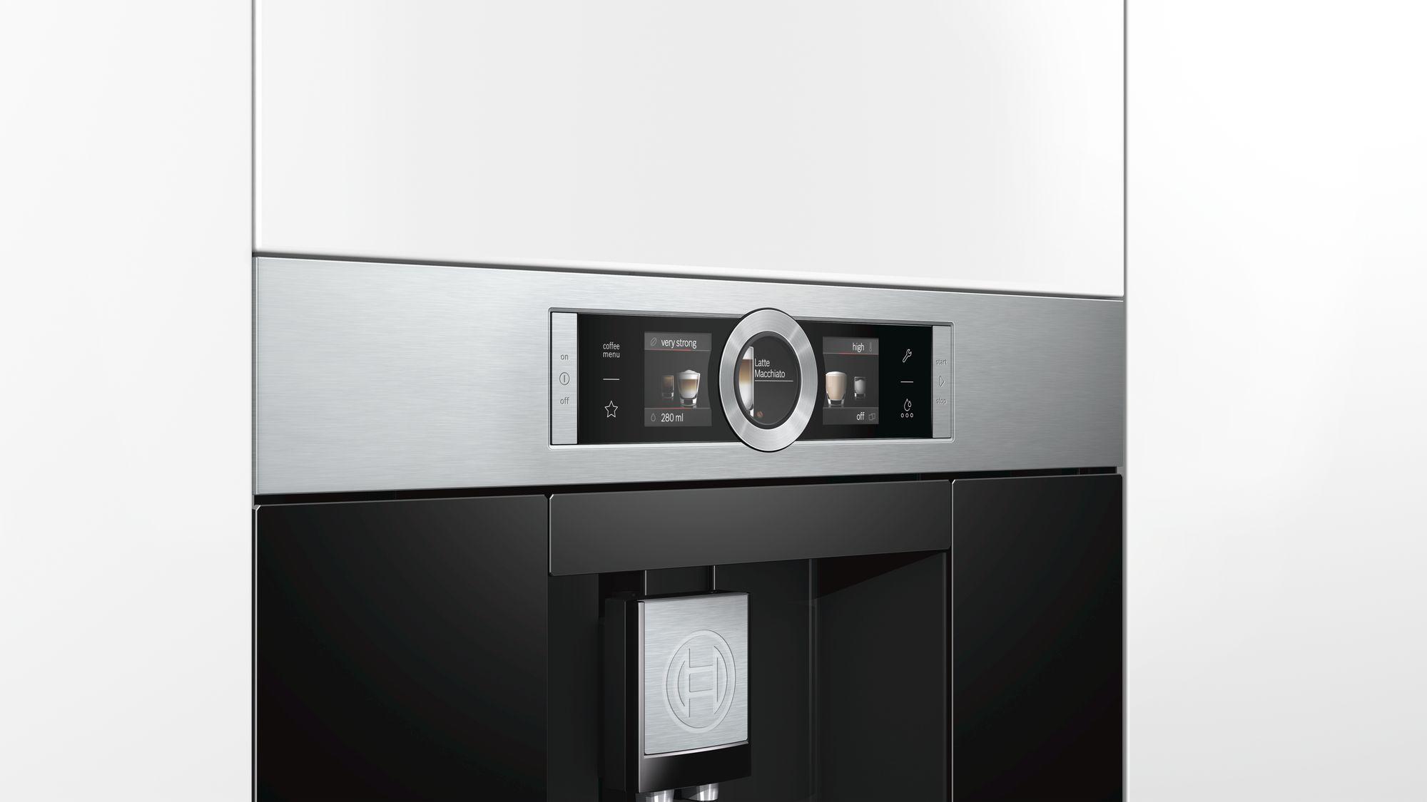 Potpuno automatski aparat za kafu nerđajući čelik