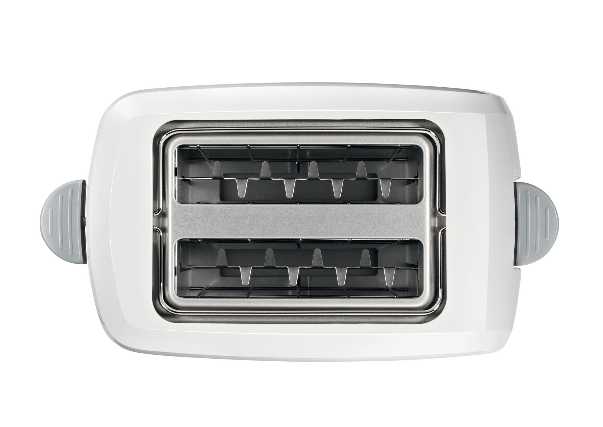 Toster electronic CompactClass bela / svetlo siva