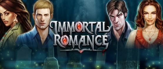Lassen Sie sich von der Liebe infizieren - bei Immortal Romance.
