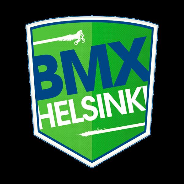 BMX Helsinki Ry urheiluseuran logo