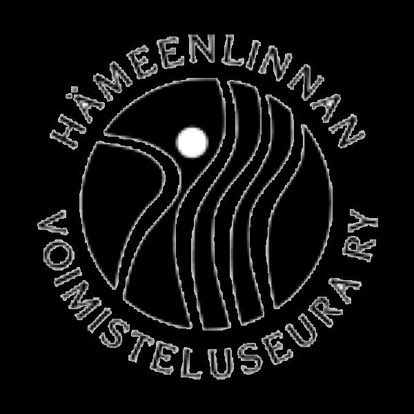 Hämeenlinnan Voimisteluseura Ry urheiluseuran logo