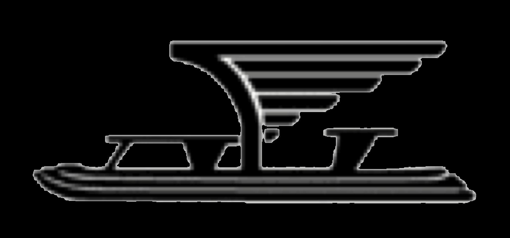Helsingin Luistin Klubi Ry urheiluseuran logo