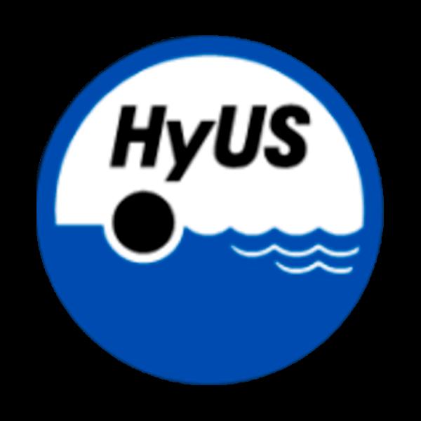 Hyvinkään Uimaseura Ry urheiluseuran logo