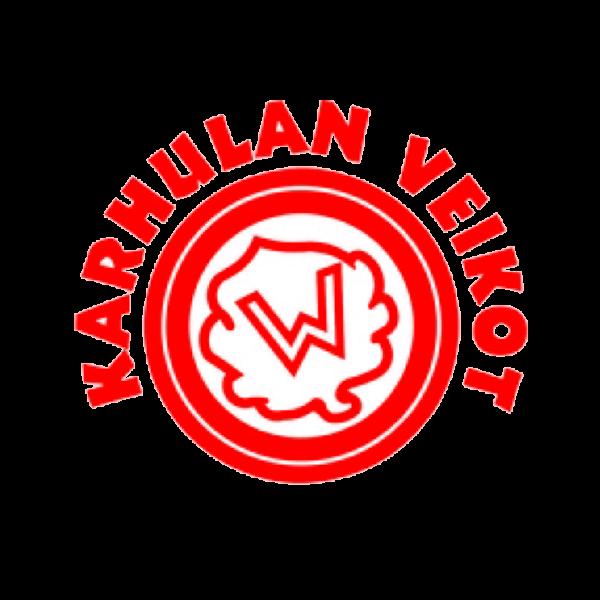Karhulan Veikot Juniorit Ry urheiluseuran logo