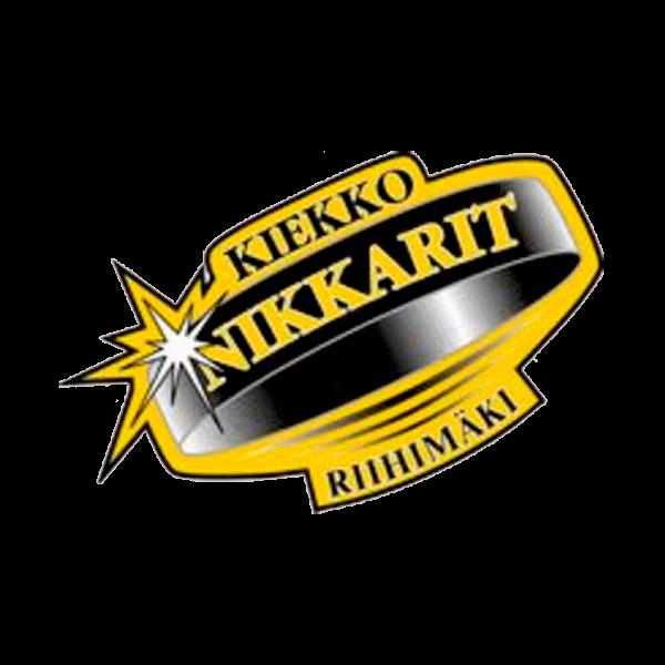 Kiekko-Nikkarit Ry urheiluseuran logo