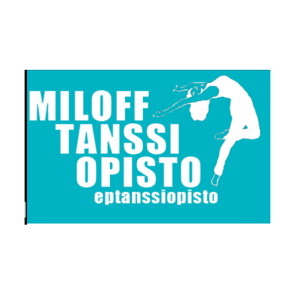 Miloff Tanssiopisto urheiluseuran logo