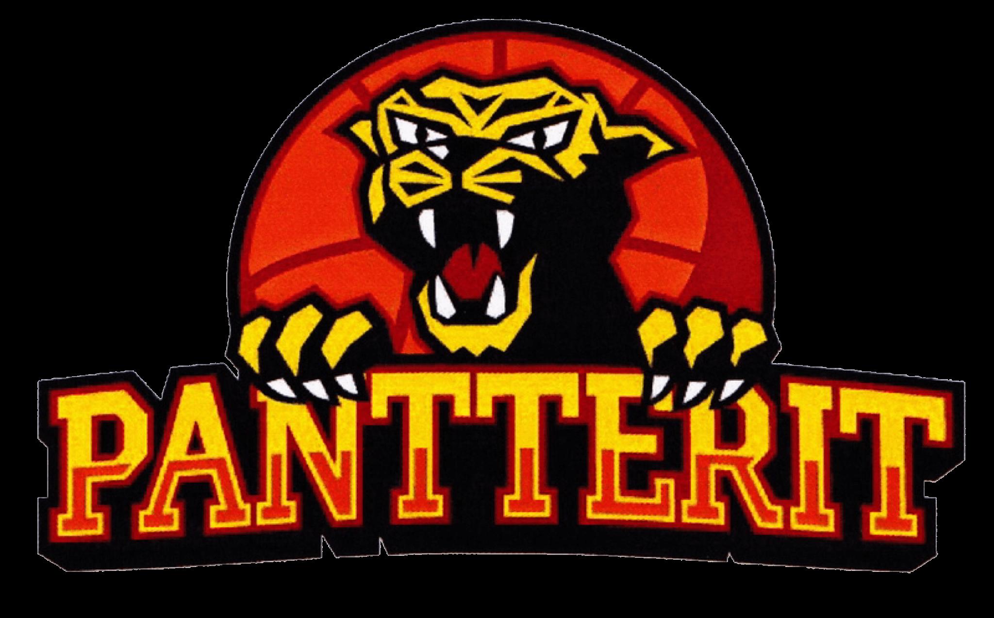Pantterit Ry urheiluseuran logo