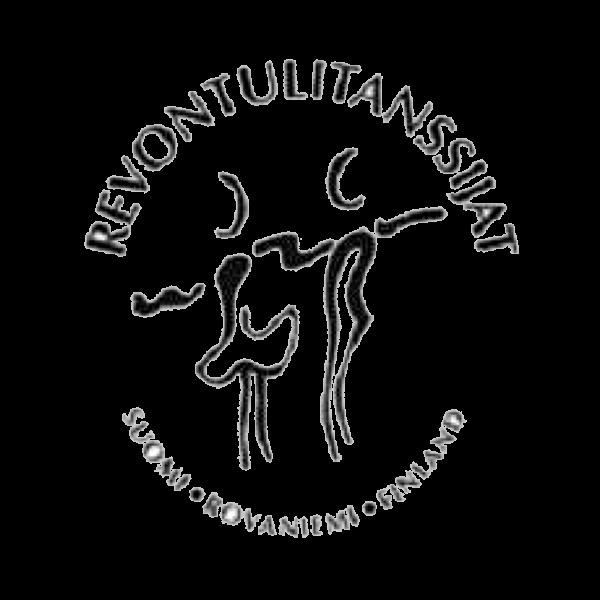 Revontulitanssijat Ry urheiluseuran logo