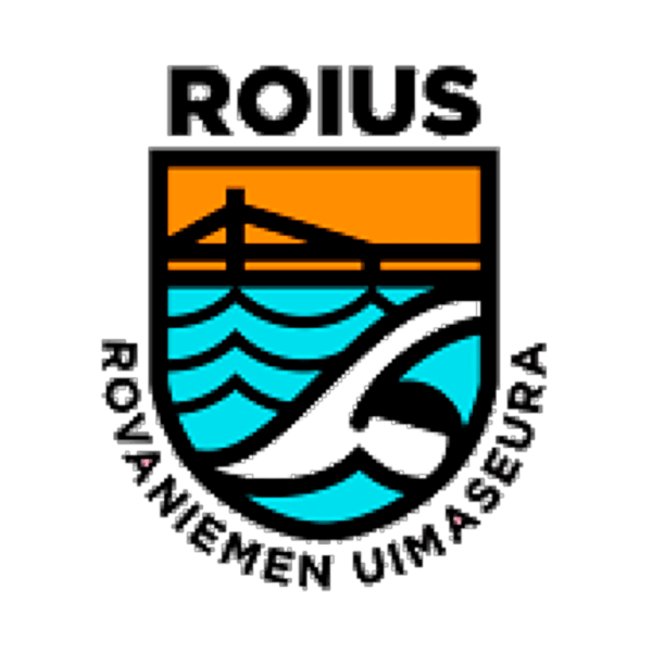 Rovaniemen Uimaseura Ry urheiluseuran logo