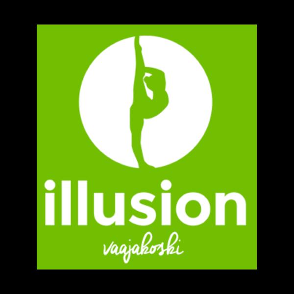 Tanssi-ja Voimisteluseura Illusion Vaajakoski Ry urheiluseuran logo