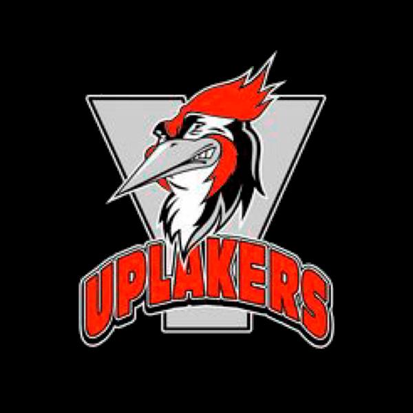 Uplakers Ry urheiluseuran logo