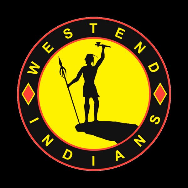 Westend Indians Ry urheiluseuran logo