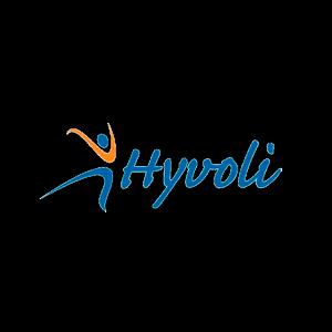 Hyvinkään Voimistelu ja Liikunta Ry urheiluseuran logo
