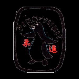 Judoseura Pingviinit Ry urheiluseuran logo