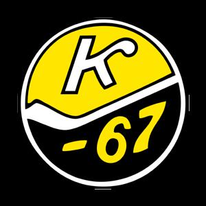 Kiekko-67 juniorikiekko Ry urheiluseuran logo