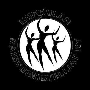 Kokkolan Naisvoimistelijat Ry urheiluseuran logo