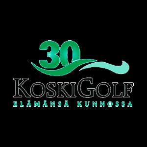 KoskiGolf Ry urheiluseuran logo