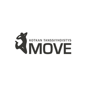 Kotkan Tanssiyhdistys Move Ry urheiluseuran logo