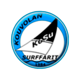 Kouvolan Surffarit Ry urheiluseuran logo